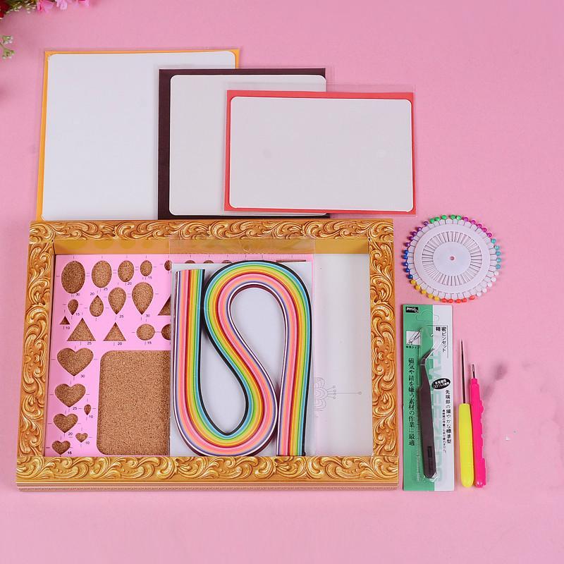 acheter jeu de matériel de quilling de papier de bricolage jeu deacheter jeu de matériel de quilling de papier de bricolage jeu de quilling de papier de cartes faites main de métier jeu de matériel de quilling de papier