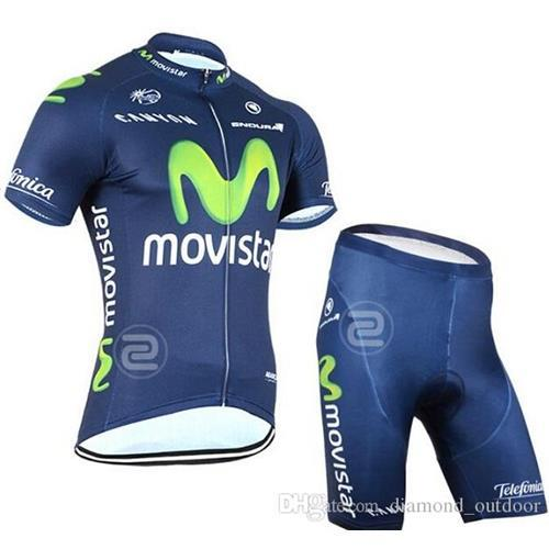 6e411dccf 2015 New Movistar Cycling Jersey  Cycling Clothing Short Sleeve Jersey Bib  Shorts  Pants Suit Tight Maillot Ropa Bike Clothing Breathable Bicycle  Jersey ...