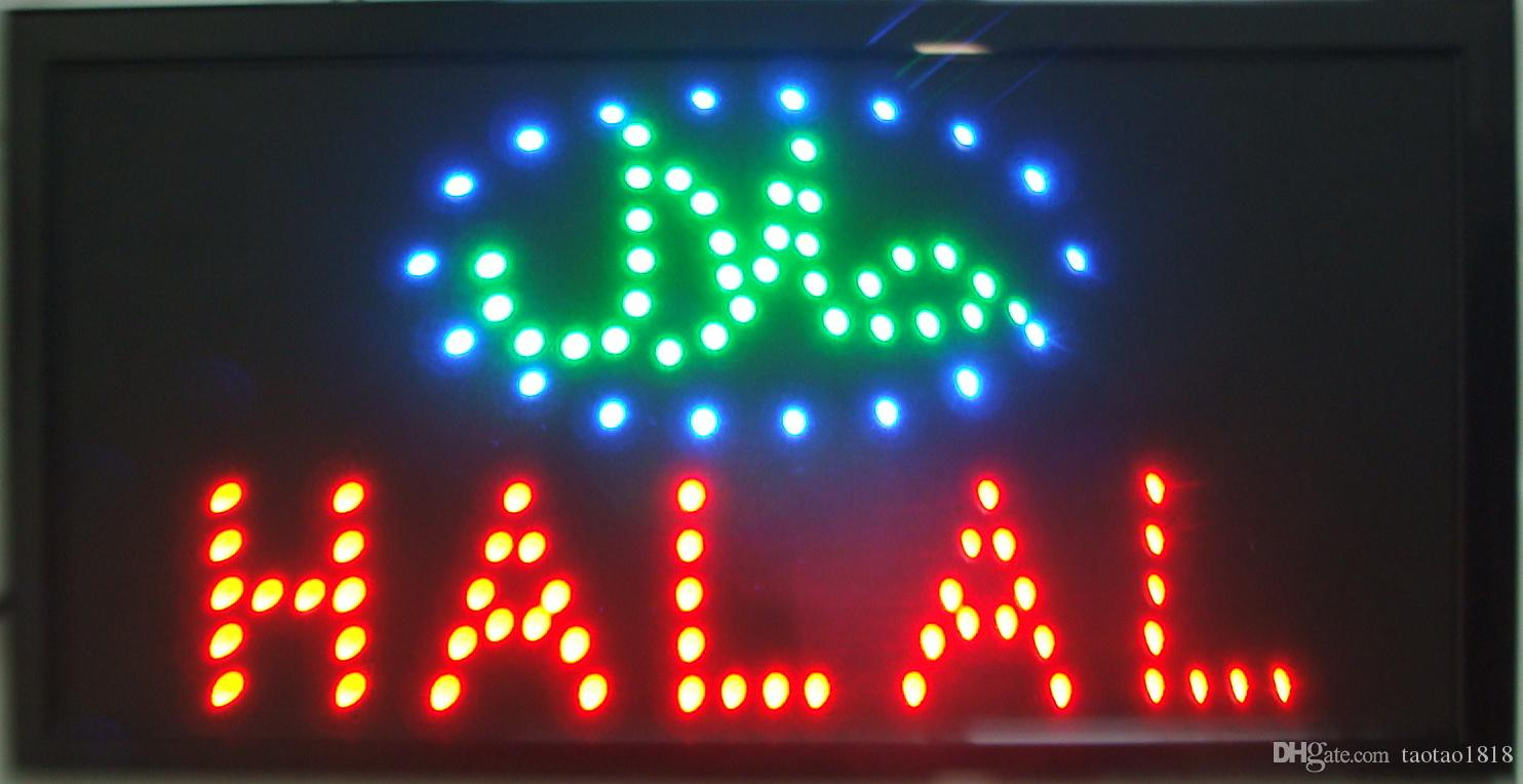 2018 arabic 2015 new arriving customized led halal signs neon lights 2018 arabic 2015 new arriving customized led halal signs neon lights eye catching slogans semi outdoor size 48cm25cm from taotao1818 1639 dhgate mozeypictures Gallery