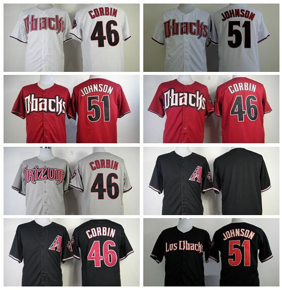 4d47e1e31 46 Cool Base Arizona Arizona Diamondbacks Baseball Jerseys 21 Zack Greinke  38 Curt Schilling 46 Patrick Corbin White Gray Red ...