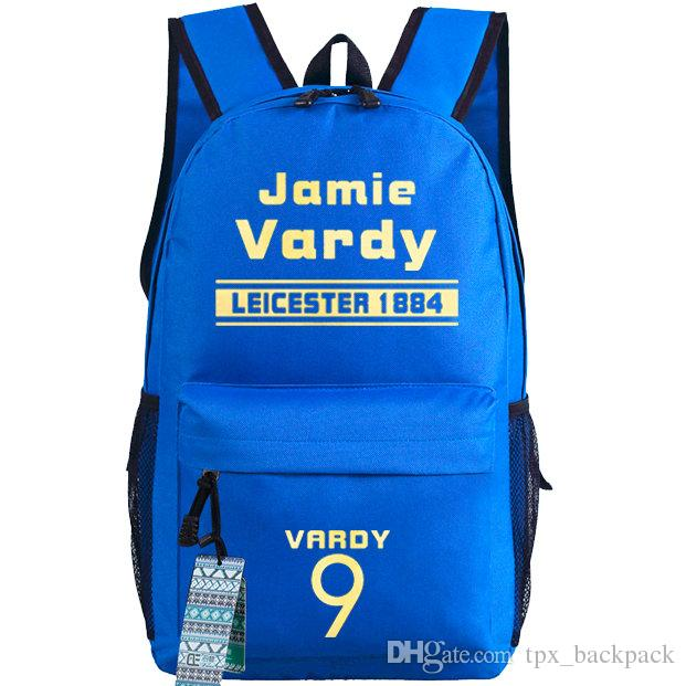 c3c16063f112 Jamie Vardy Backpack Hot Player Day Pack Football Star School Bag Soccer  Packsack Quality Rucksack Sport Schoolbag Outdoor Daypack Laptop Backpacks  Travel ...