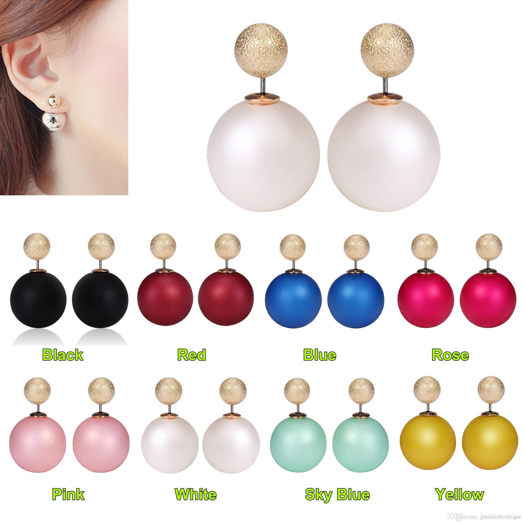 aaa golden pink sea products stud south pearl mm earrings earring