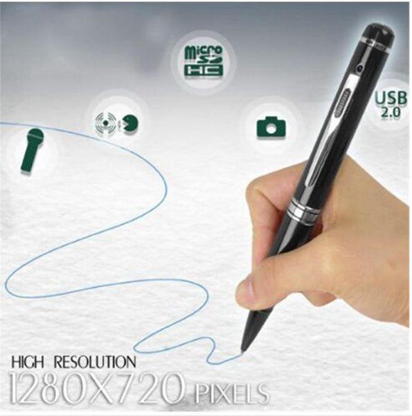 HD 1080P H2.64 Stift Kamera Digital Stift Lochkamera Mini Voice Video Recorder Bewegungserkennung DVR Camcorder DV silber / golden /