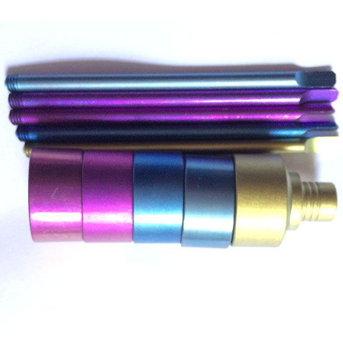 Domeless 티타늄 네일 컬러 탄수화물 캡 14mm 18mm 남성 여성 탄수화물 캡 2 학년 VS 세라믹 손톱 석영 나이 유리관