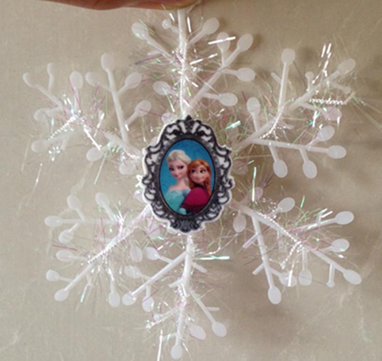 Exclusive!!! Frozen Anna Elsa Snowflakes Christmas Tree ...