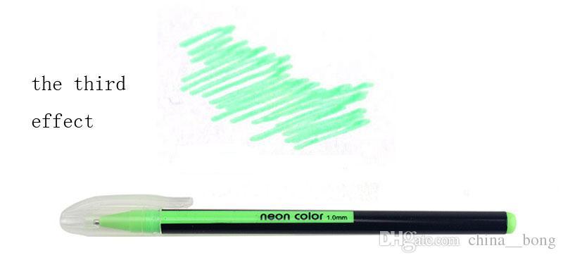 DHL 뜨거운 젤 펜 또는 젤 리필 롤러 볼 파스텔 네온 반짝이 펜 드로잉 컬러 펜 크리스마스 학생 연구 선물