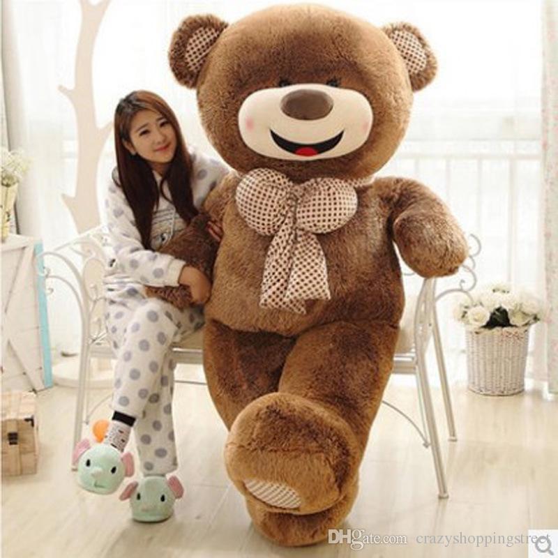 2019 100cm jumboteddy bear girls gifts adorable giant teddy bears sale plush ted bear kids toys. Black Bedroom Furniture Sets. Home Design Ideas