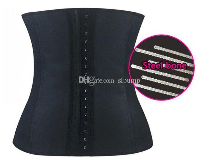 S-3XL Women Latex Rubber Waist Trainers corset Waist Training Belt Kim Waist Training Belt Underbust Corset Body Shaper Shapewear