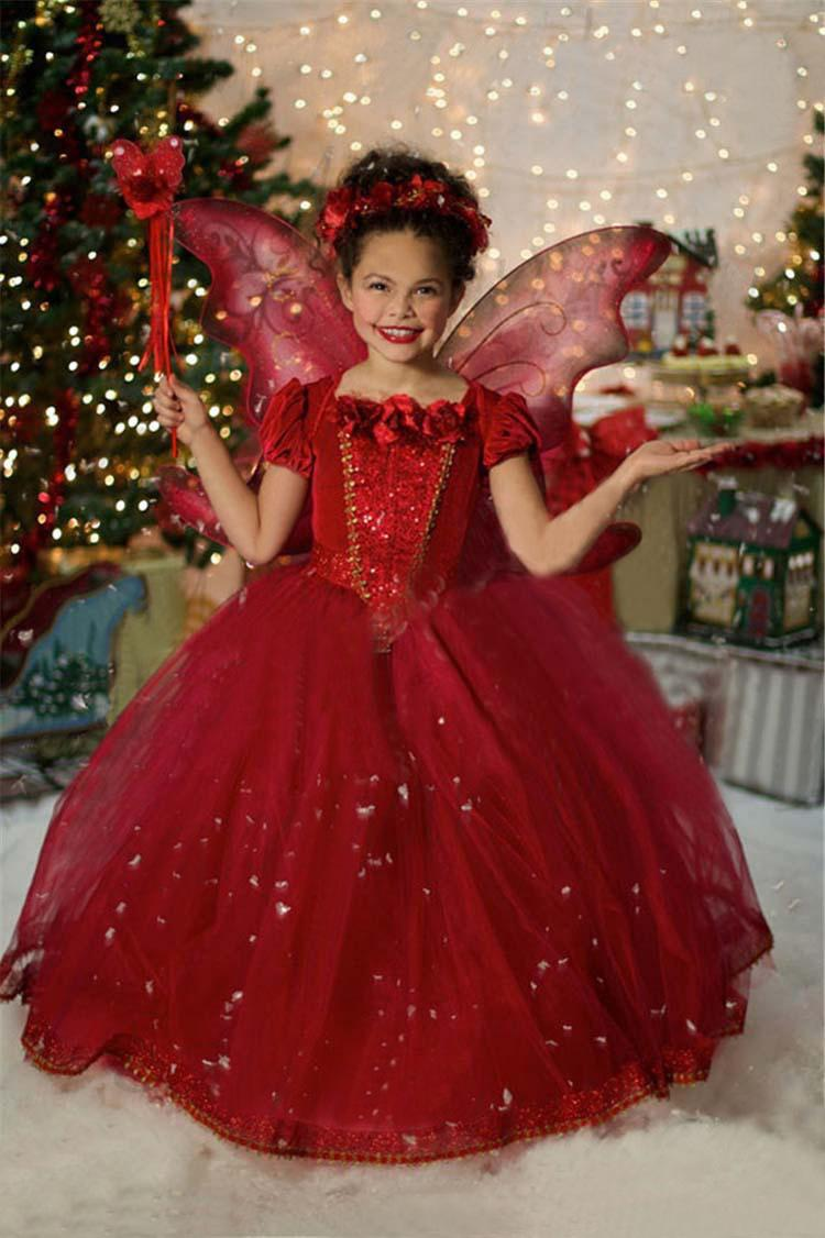 Christmas wedding dress korean - 2017 Retail Latest Design Baby Girls Wedding Dress Flower Girl Dress Frozen Lace Dresses For Girl Children Tulle Dress Kids Party Outfits From Greatamy