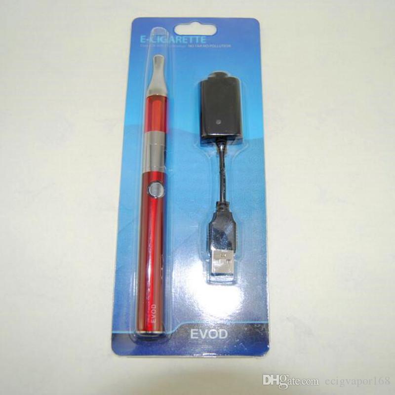 Evod mini protank Blister pack kit electronic cigarette eGo evod battery starter kits VS EGO-T vision spinner 2 TVR vape pens Mods kits