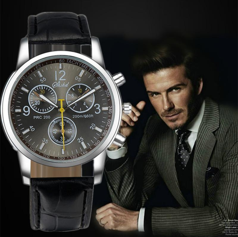 Best Buy Military Discount >> 2015 Best Selling Fashion Leather Strap Watches Men & Women Casual Watch Men Business ...