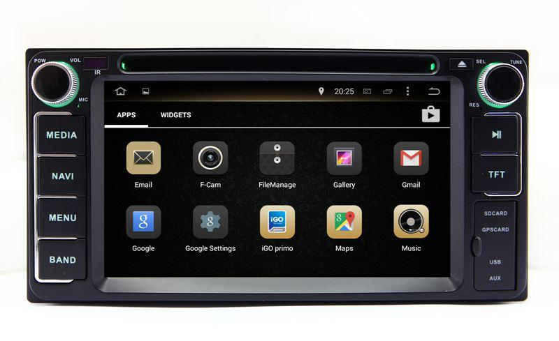 Android 7 1 Car Dvd Player Gps Navigation For Toyota Fortuner Land