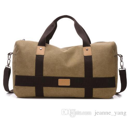 263385404 Large Capacity Travel Bag Men Hand Luggage Travel Duffle Bags Canvas  Weekend Bags Multifunctional Travel Bags Bags Online Shopping Travel Duffel  Bags From ...