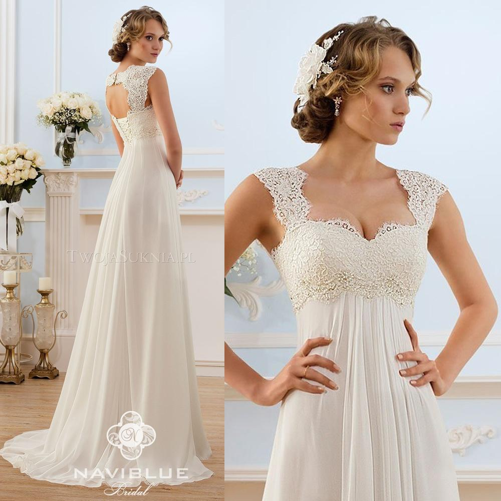 Affordable Maternity Wedding Gowns: Discount 2015 Chiffon Maternity Wedding Dresses Open Back