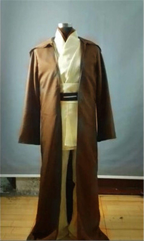 Kenobi Kap Von Obi Wan Tropfenverschiffen Star Robe Haube Kostüm Tunika Mantel Für Partei Jedi Halloween Wars Großhandel Cosplay UMVSGpqjLz
