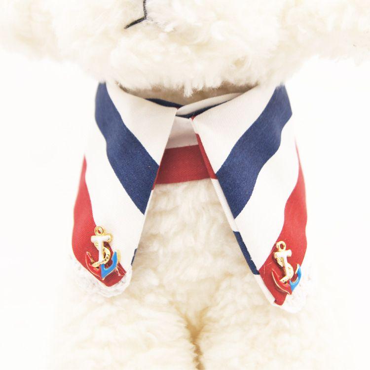 Venda quente gola de estimação pet tracção de couro toalha de água gravata borboleta produtos para animais de estimação