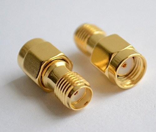 Neu SMA Male Plug auf RP-SMA Female Plug RF Coaxial Adapter Connector