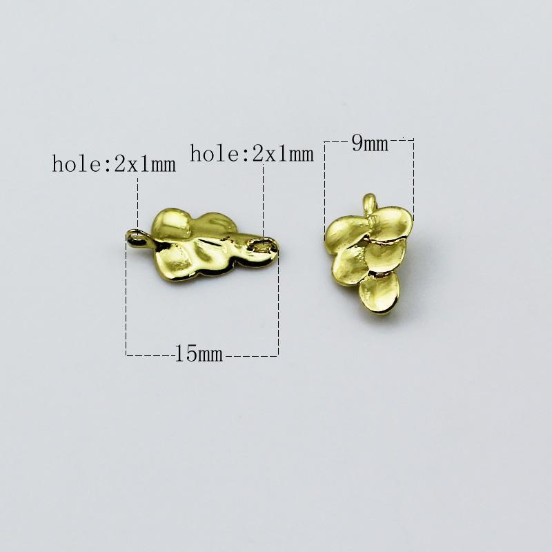 Beadsnice лист очарование кулон разъем ювелирные изделия ручной работы материал серьги выводы ожерелье компонент не содержит никеля бессвинцовый ID 27411