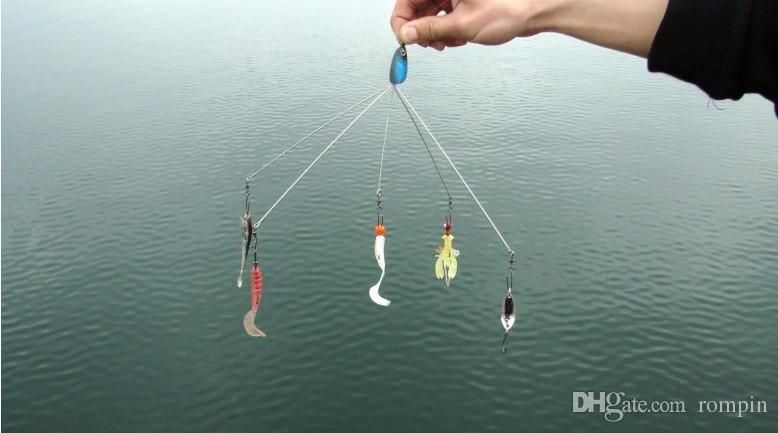 New high qulity fishing lure Alabama Rig Umbrella rig swim bait Hard Bait Shallow Bass Walleye Crappie Minnow
