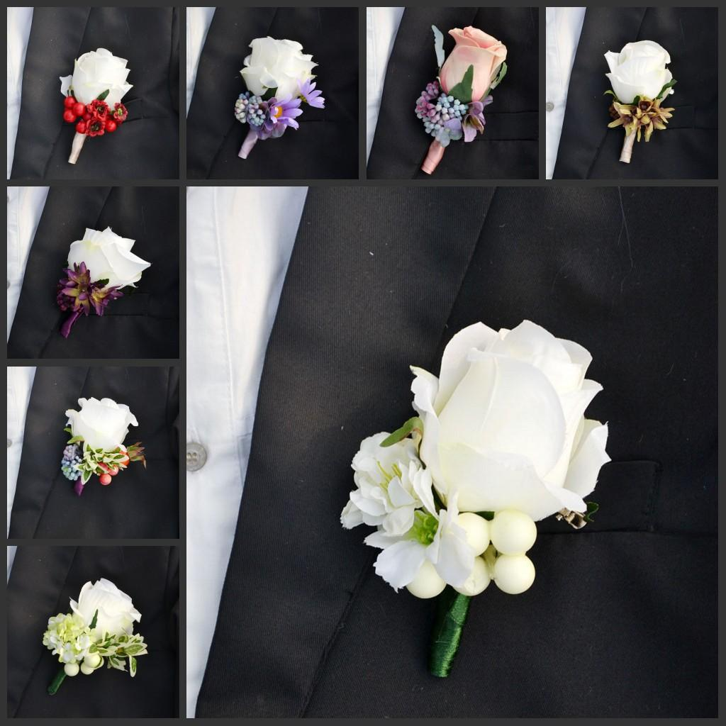 2015 beautiful wedding bouquets real touch rose flower corsages 2015 beautiful wedding bouquets real touch rose flower corsages handmade grooms boutonniere for wedding party decorations supplies accessories for weddings izmirmasajfo