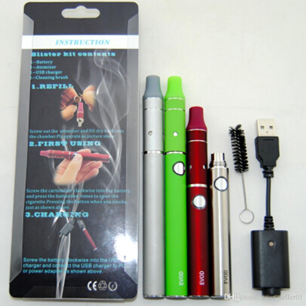 eGo EVOD Blister Pack kit Electronic Cigarettes Evod Mini ago starter kits ecigarette mini ago g5 wax dry herb atomizer vaporizer vape pens