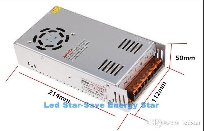 عالية الجودة dc 12 فولت أدى محول 70 واط 120 واط 180 واط 200 واط 240 واط 300 واط 360 واط 400 واط امدادات الطاقة ل led شرائط بقيادة وحدات ac 100-240 فولت