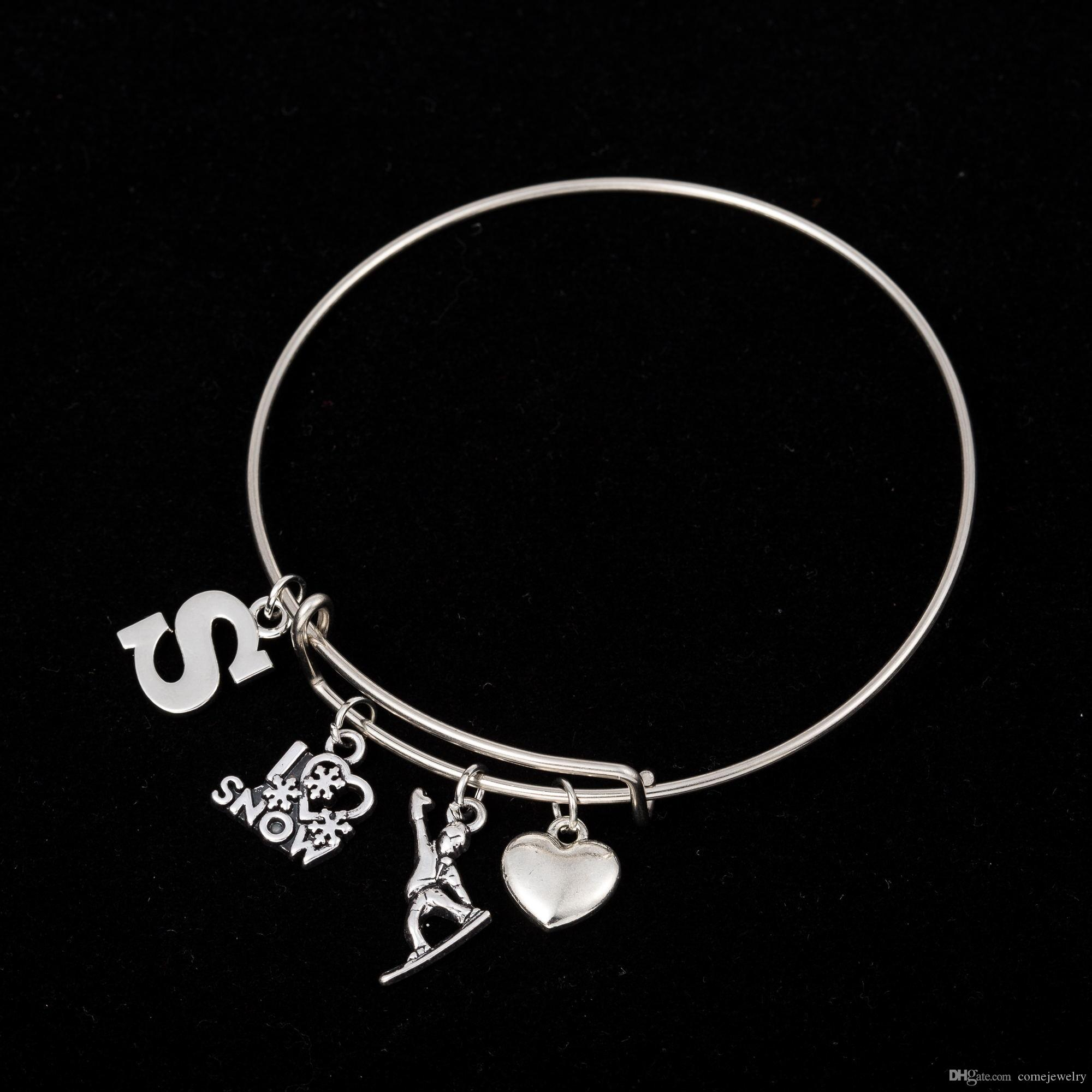 heart listing about steel bracelet gallery photo long blank il bracelets fullxfull stainless charm bangle bangles