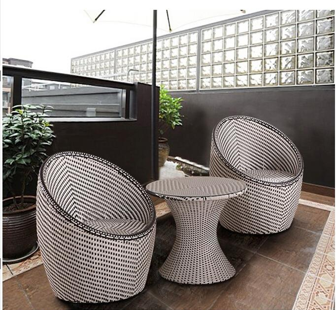 2017 Cane Three Piece Tea Table. The Cafe Tables And Chairs. The Balcony  Outdoor Tables And Chairs Rural Nest Round Table. From Jiangdu, $699.5 |  Dhgate.Com