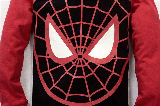 Children Suit Spider-man Kids Sets Boys Pajamas Children Sets Baby Long Sleeve 2016 Newest Set Foy Boys Children Clothing Sports Sets