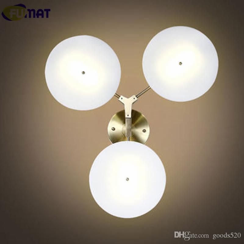 2018 Fumat Ufo Wall Lamps Modern Wall Light Fixture Living Room Art ...