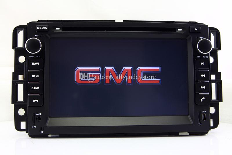 car dvd player gps navigation for gmc yukon tahoe acadia with radio rh dhgate com GMC Yukon Front Seats GMC Yukon Front Seats
