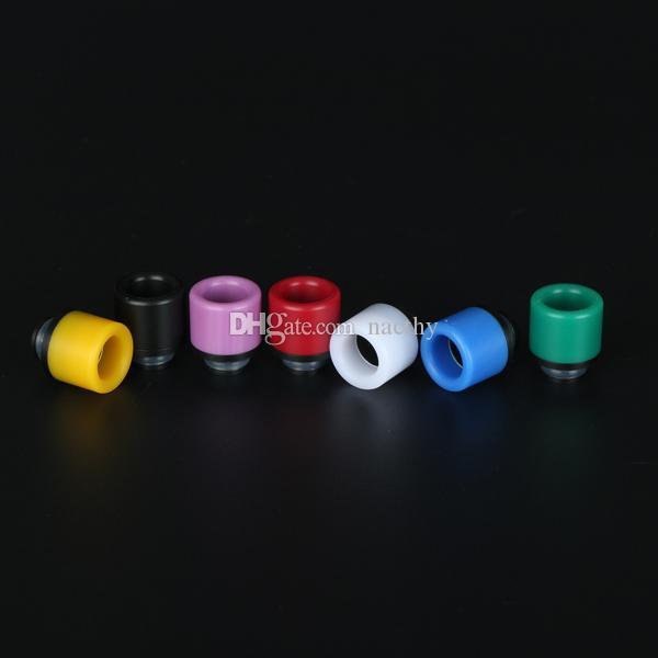 Rich Colors 510 Wide bore Drip Tips POM Drip Tip 510 Atomizer Mouthpieces for 510 EGO Evod Vaporizer RDA Vape Mods E Cigarettes