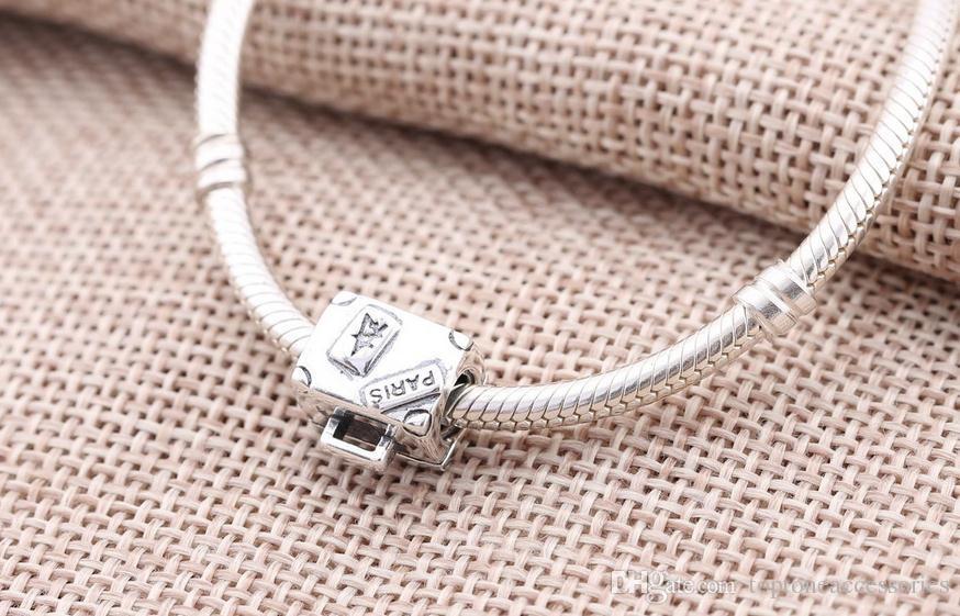 100% Sterling Silver Charms 925 Ale Trunk Charms para Pandora Pulseras Trip DIY Beads Accesorios Envío gratis