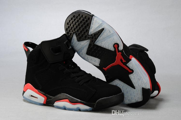Nike Air Jordan 6 Shoes Cheap Best Basketball Shoes Mens Mens Basketball  Shoe Man Sports Shoes Womens Basketball Shoes 6 Black Infrared 23 Sneakers  Jordans ...