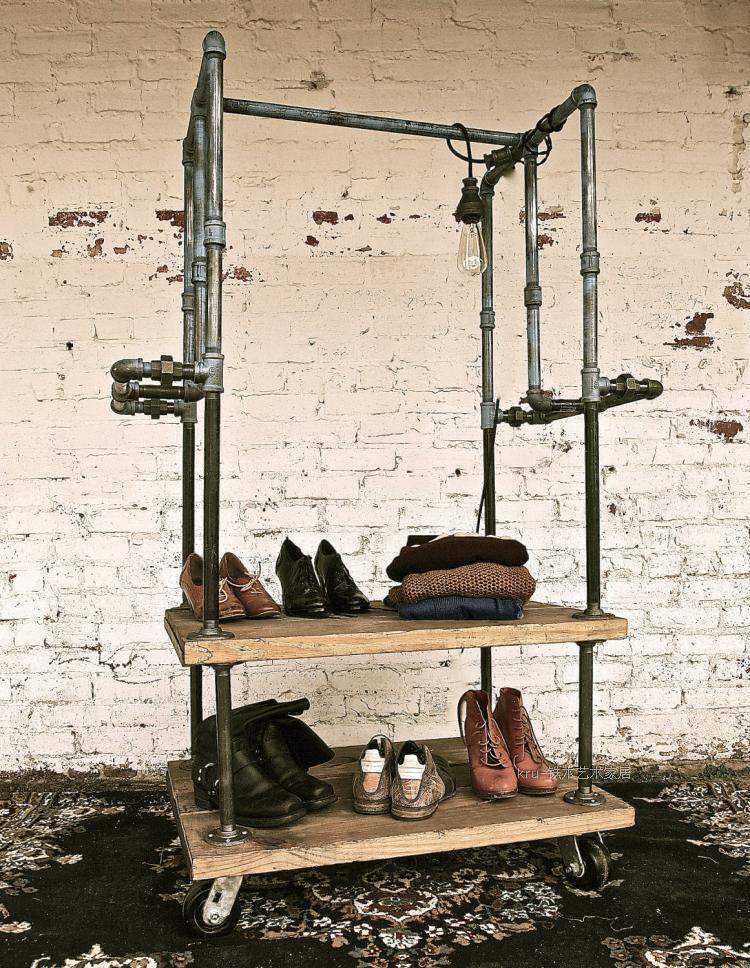 Do the Old Vintage Clothing Display Racks Coat Rack Clothing ...