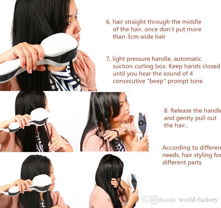 pro curl устройство для укладки волос для волос Perfect hair roller Профессиональные инструменты для укладки волос DHL от world-factory