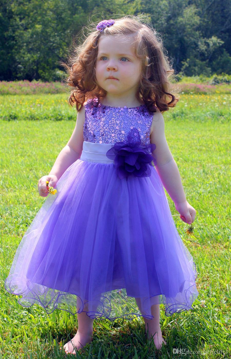 Girls Bridesmaid Dresses Purple Image collections - Braidsmaid Dress ...
