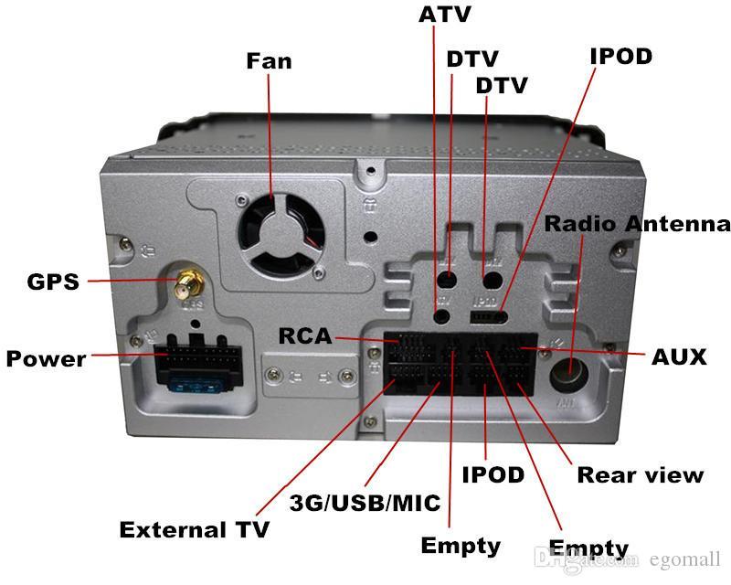 Puro Android 4.4 reproductor de DVD para coche 7inch para Focus / Mondeo / S-max / C-max / Galaxy / Fiesta Form / Fusion / Conectar con GPS 3G Wifi Radio Mapa