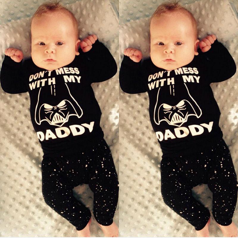 b2dc3ef98 2019 Newborn Baby Boys Girl Clothing Fall Winter Boutique Clothes ...