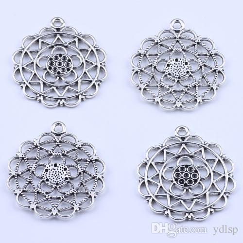 Новая мода серебра производство ювелирных изделий DIY подвеска комбинированная форма Fit ожерелье или браслет /много 2154c