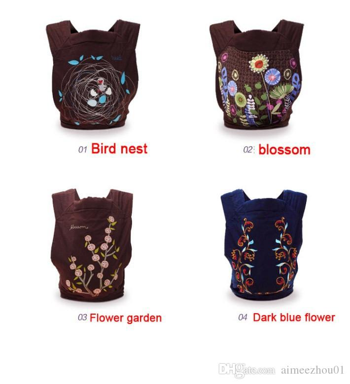 Activity & Gear Beautiful New Designs China Style Baby Carrier Fashion Floral Baby Sling Ergonomic Baby Backpack For 0-3 Years Mother & Kids