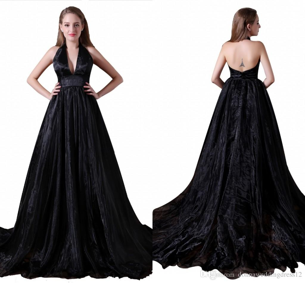 Simple Vintage Black Evening Dresses Women 2017 Ever Pretty Robe De Soiree Longue Formal Prom Dress Avondjurk Imported Party Gowns