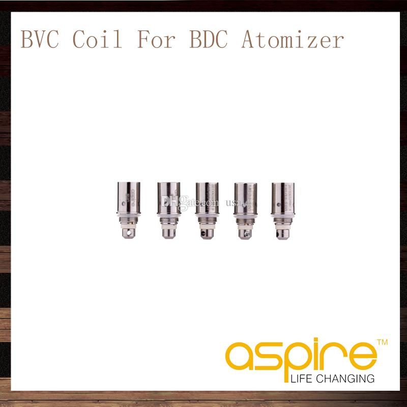 Aspire BVC Bobine Testa Aspire BDC Atomizzatori CE5 CE5S ET ETS Vivi Nova Mini Vivi Nova BDC Bobine di ricambio 1.6 1.8 2.1 ohm