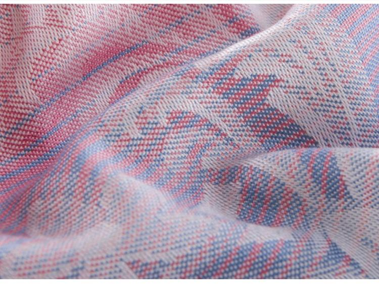 Bambusowy zestaw pościeli 3 szt Poszczególne poduszki Letnie Koc Nici Miękka Gładka Tekstylia Red Green China Panda
