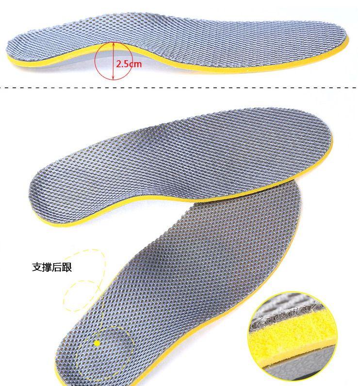 уход за ногами 1 пара 3D премиум женщины мужчин удобную обувь ортопедические стельки вставки высокая арка поддержка Pad 10 пар/лот #3988