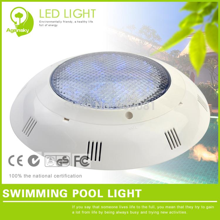 9W Swimming pool LED color Changing Lights 12 volt PVC LED RGB underwater  Light for Swim pool Remote Controller