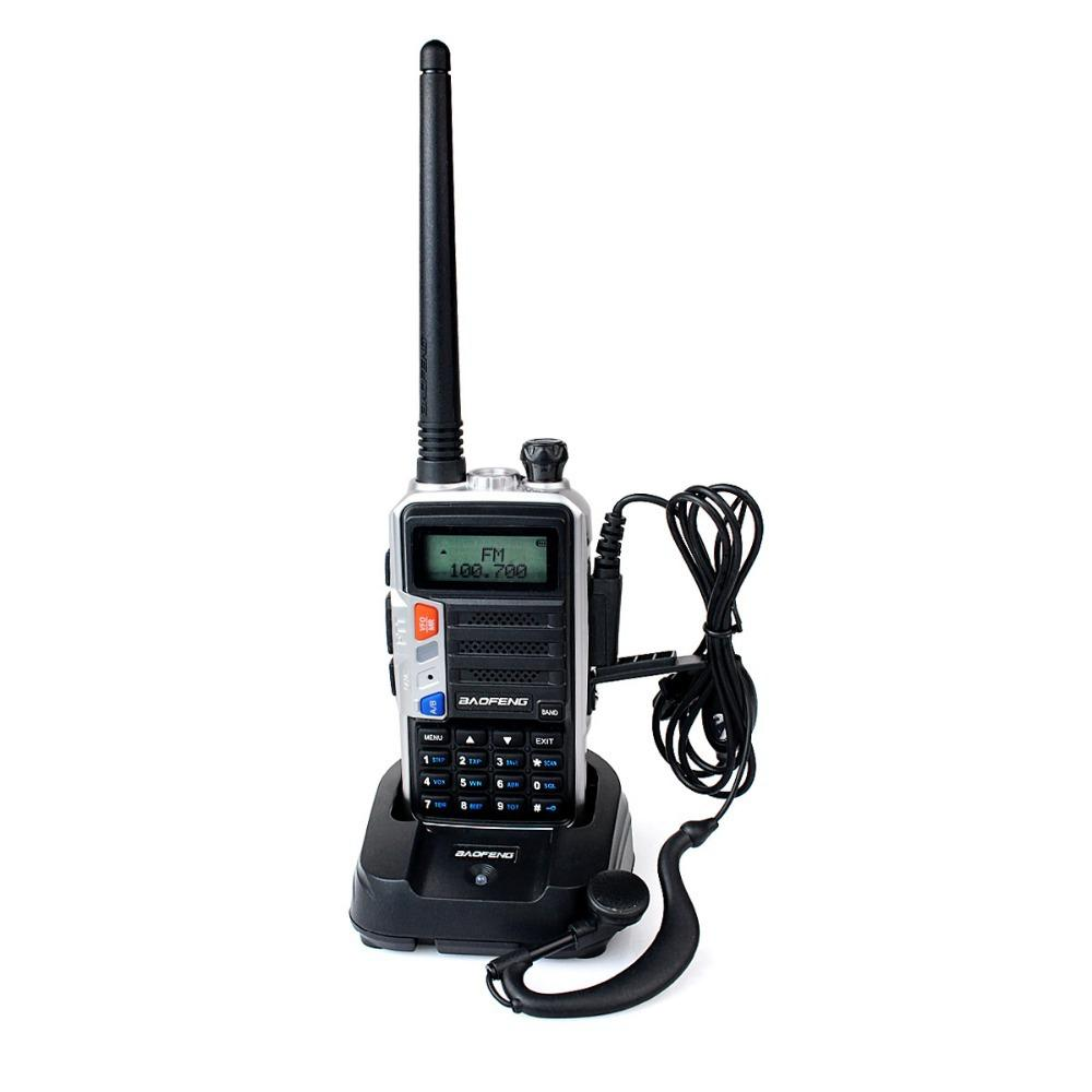 Baofeng FF-12P Walkie Talkie 5W FM-радио УКВ 128CH + UHF136-174 + 400-520MHz VOX DTMF Dual Band Двойная частота Two Way Радио A7145A