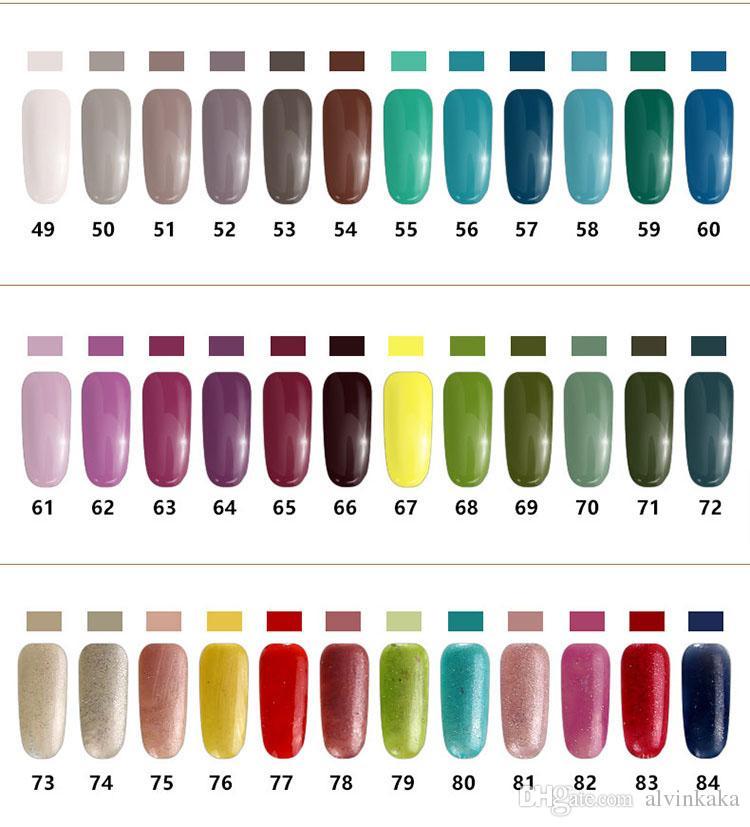 Wholesale 2016 Nail Gel Polish 15ml Soak Off Nail Polish Manicure ...
