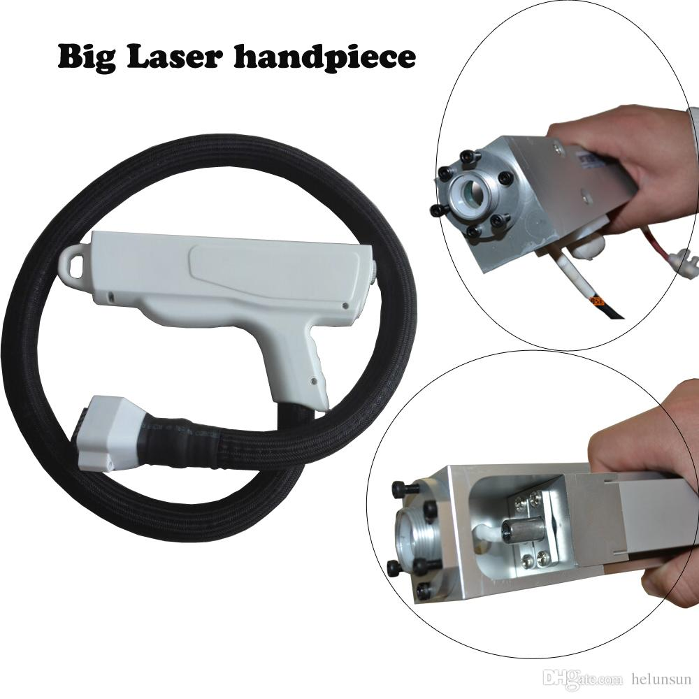 Nd Yag Laser Handpiece Q Switched Laser Handle For Tattoo