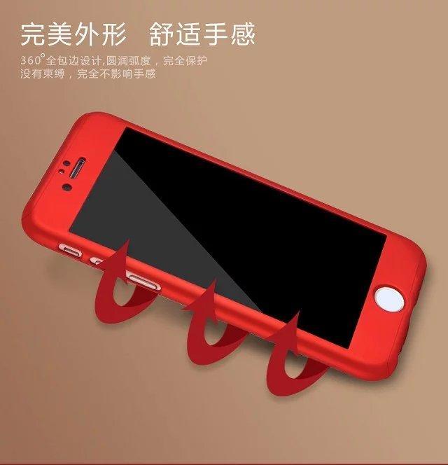 custodia iphone 8 plus 360 gradi